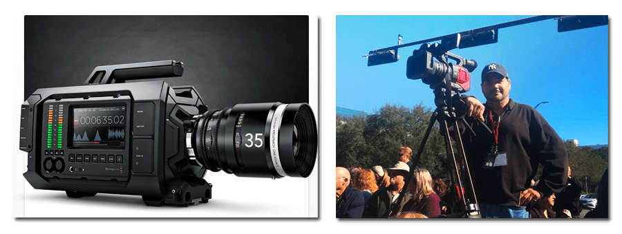 We can shoot in 4k technology